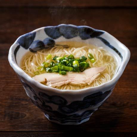 鶏出汁にゅう麺